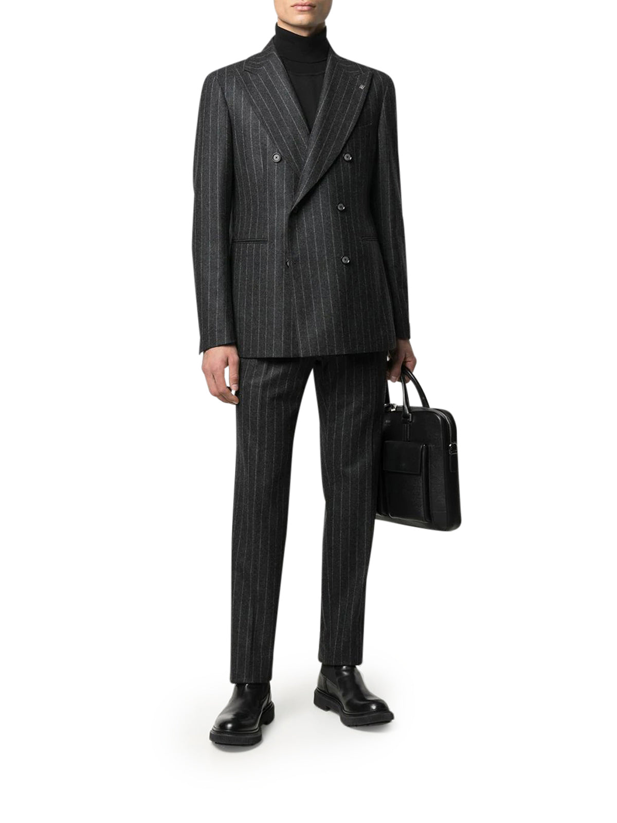 double breasted pinstripe suit