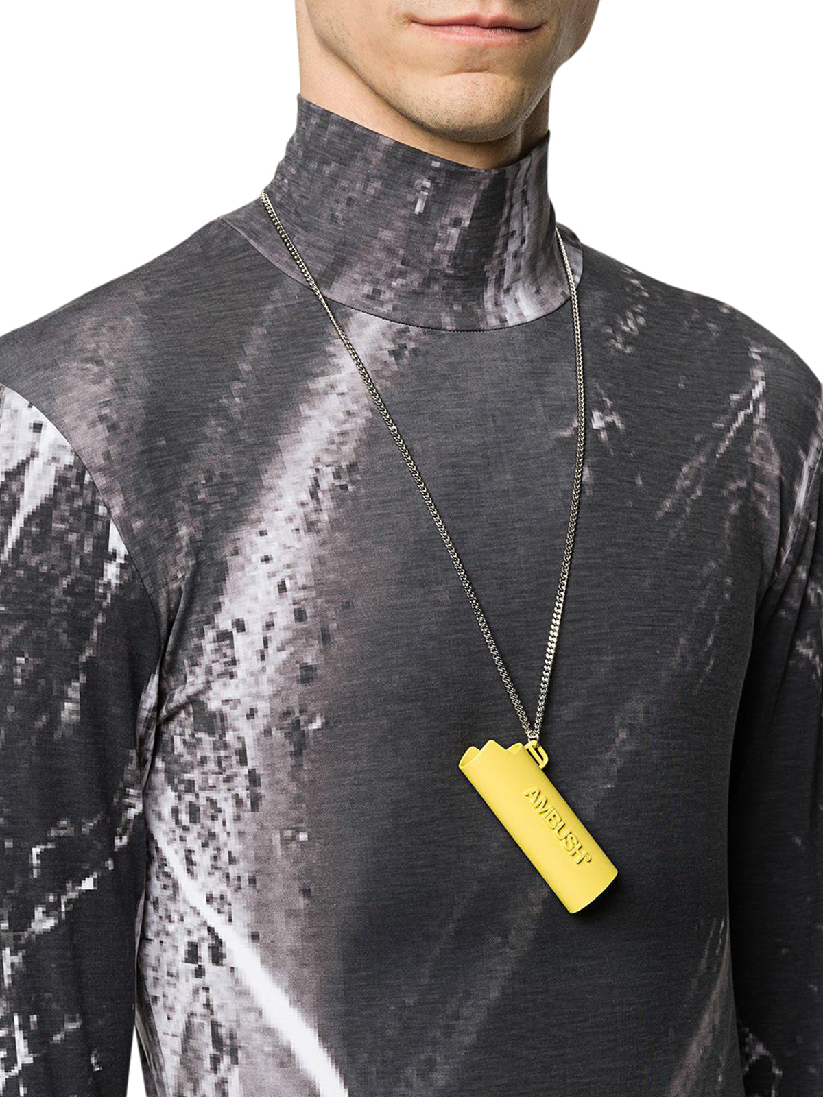 lighter pendant necklace