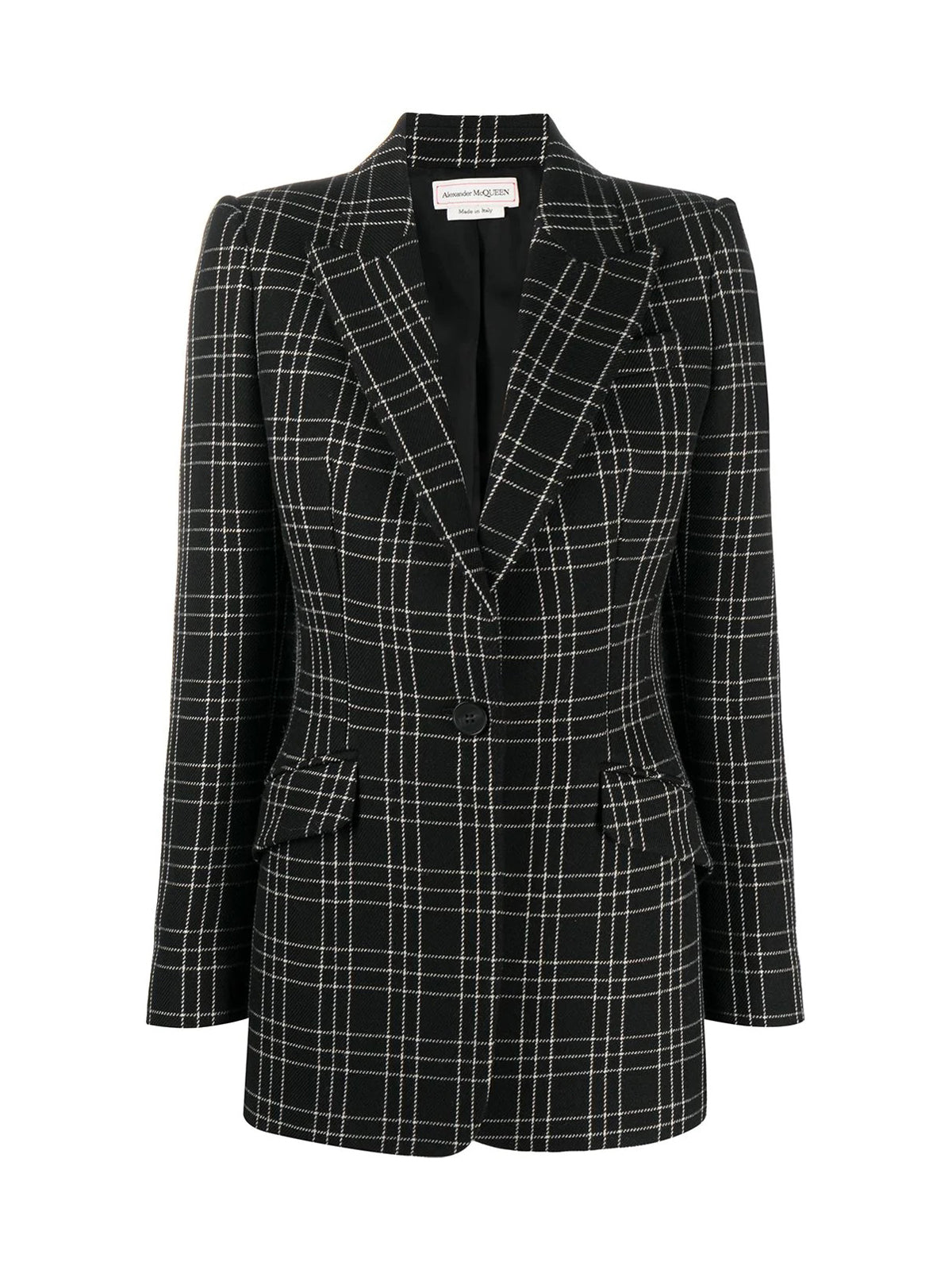 Sartorial checked blazer