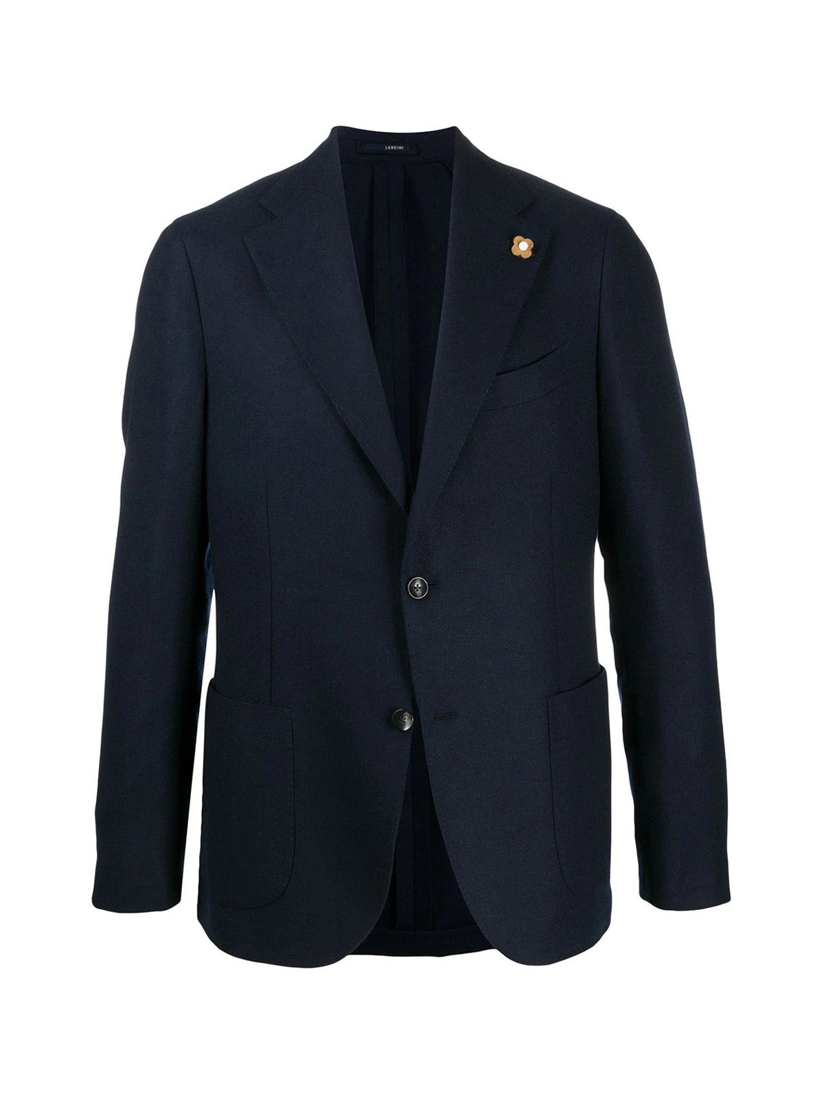 single-breasted cashmere blazer