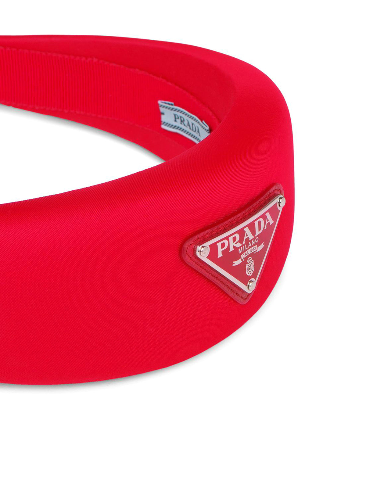 Headband in red nylon