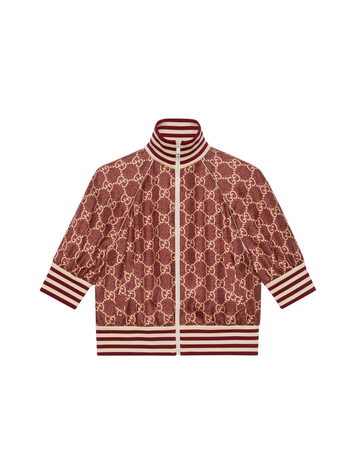 GG Supreme print silk jacket