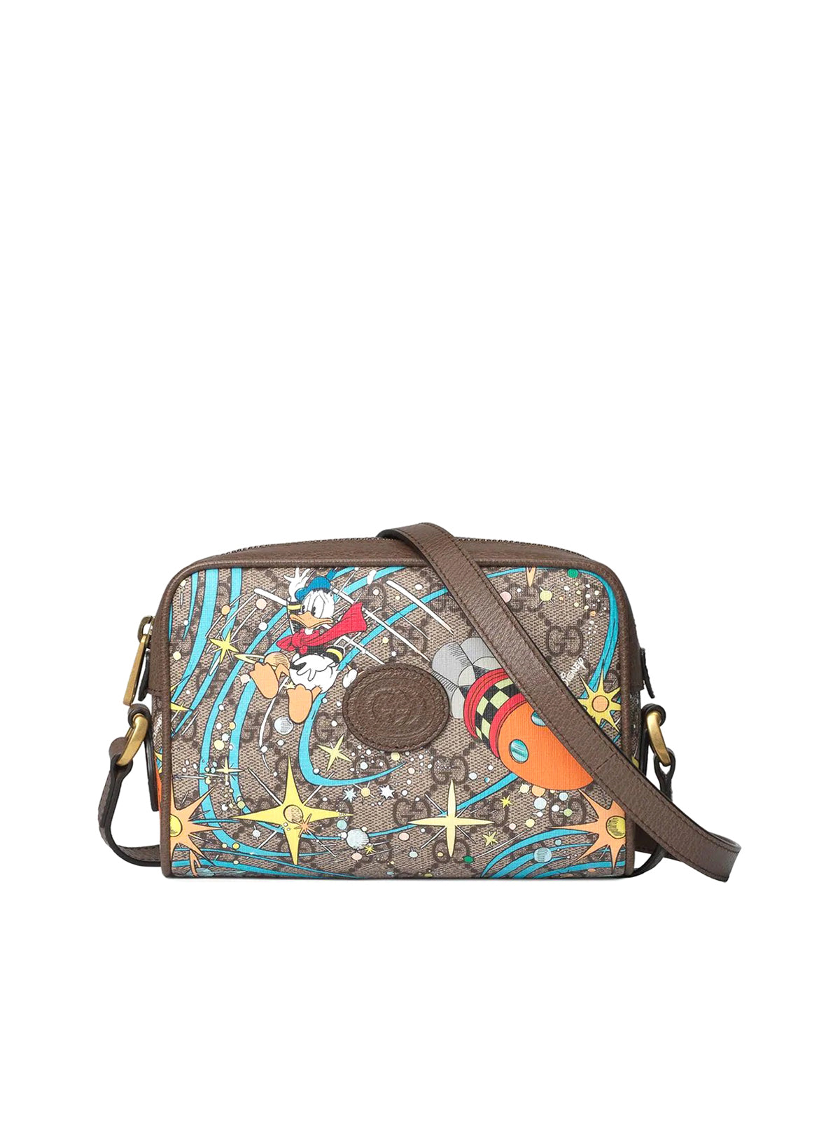Gucci x Disney GG Supreme canvas shoulder bag