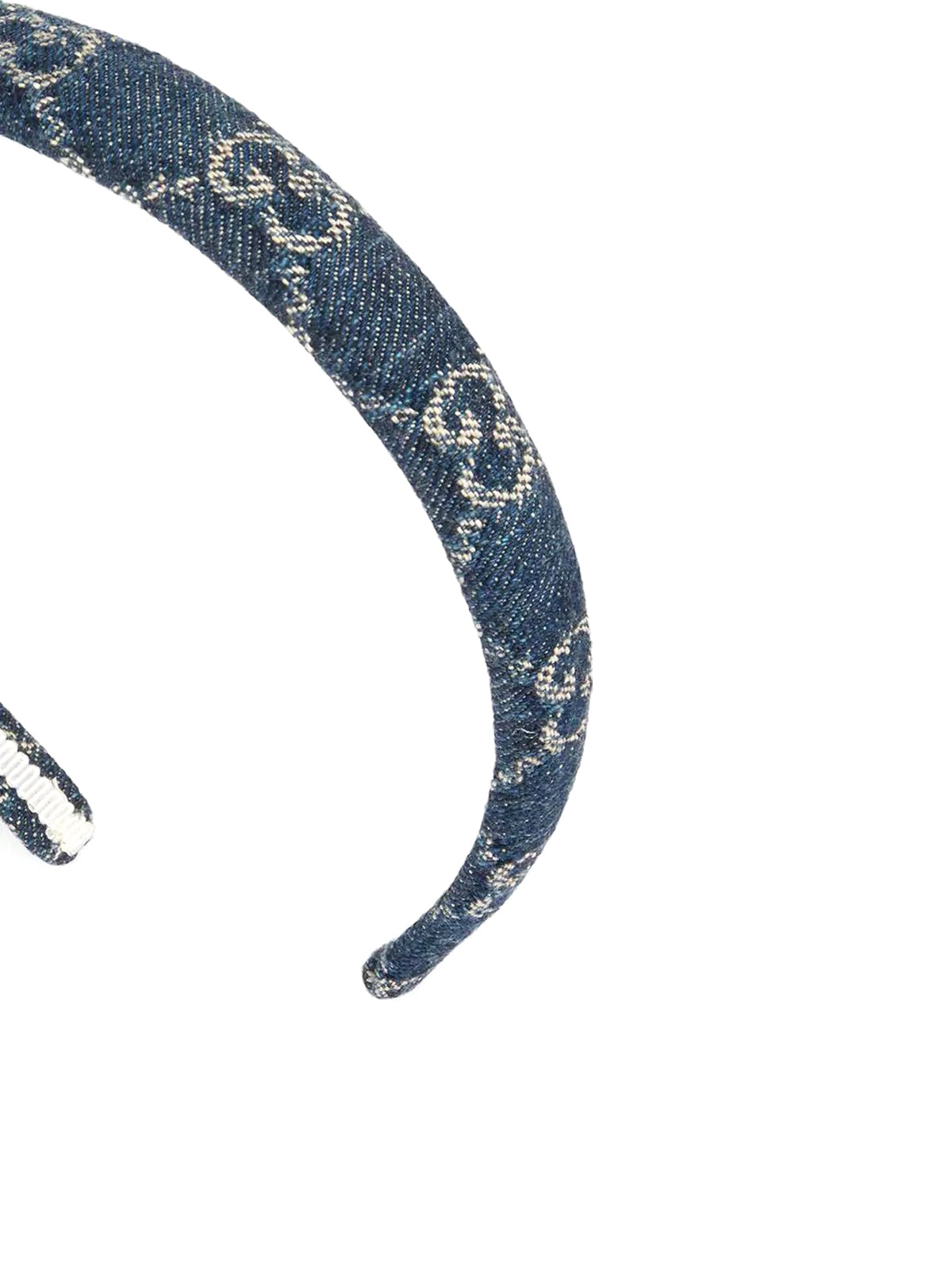 GG supreme denim hair band