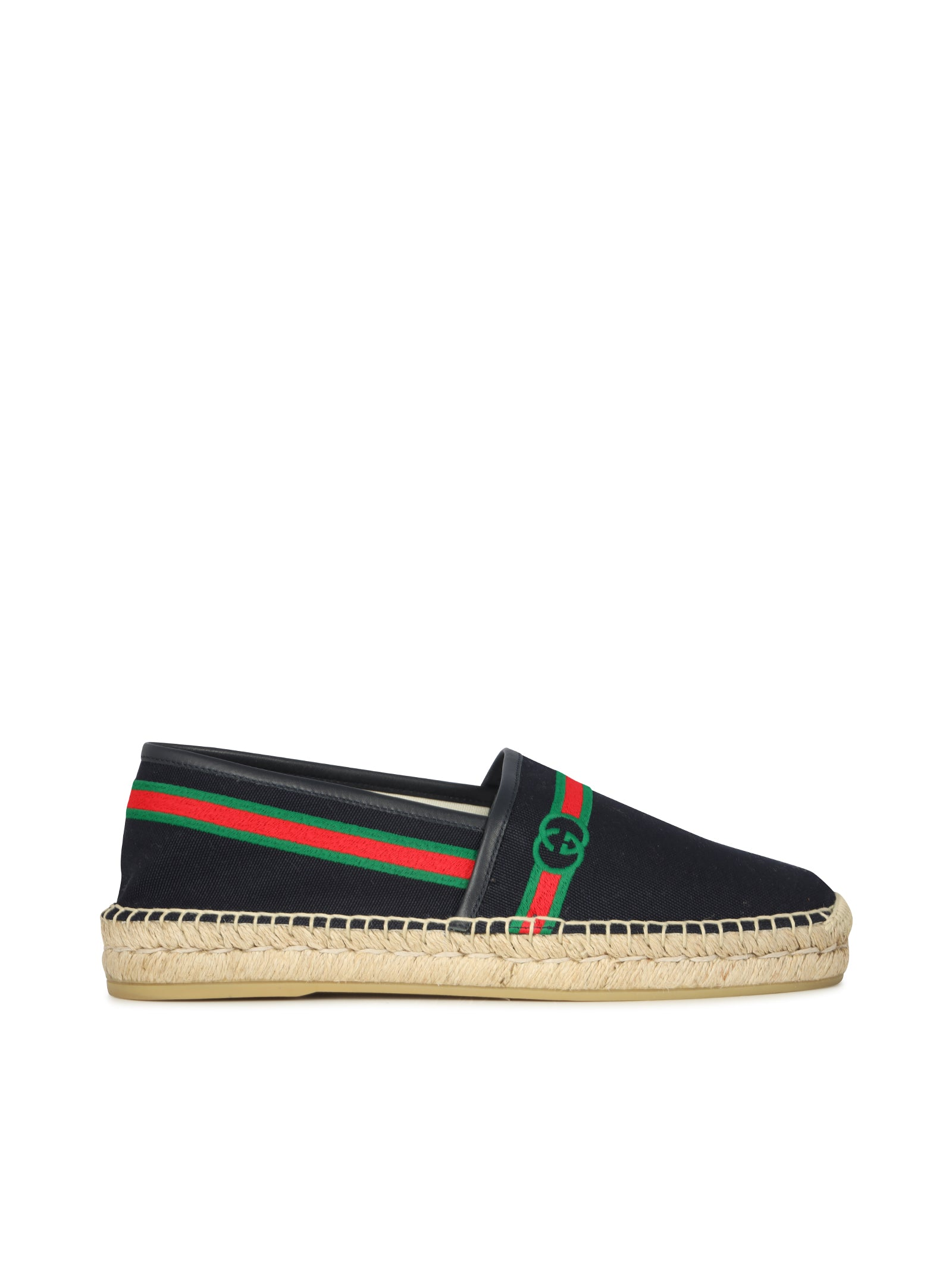 Gucci MEN`S EMBROIDERED ESPADRILLE