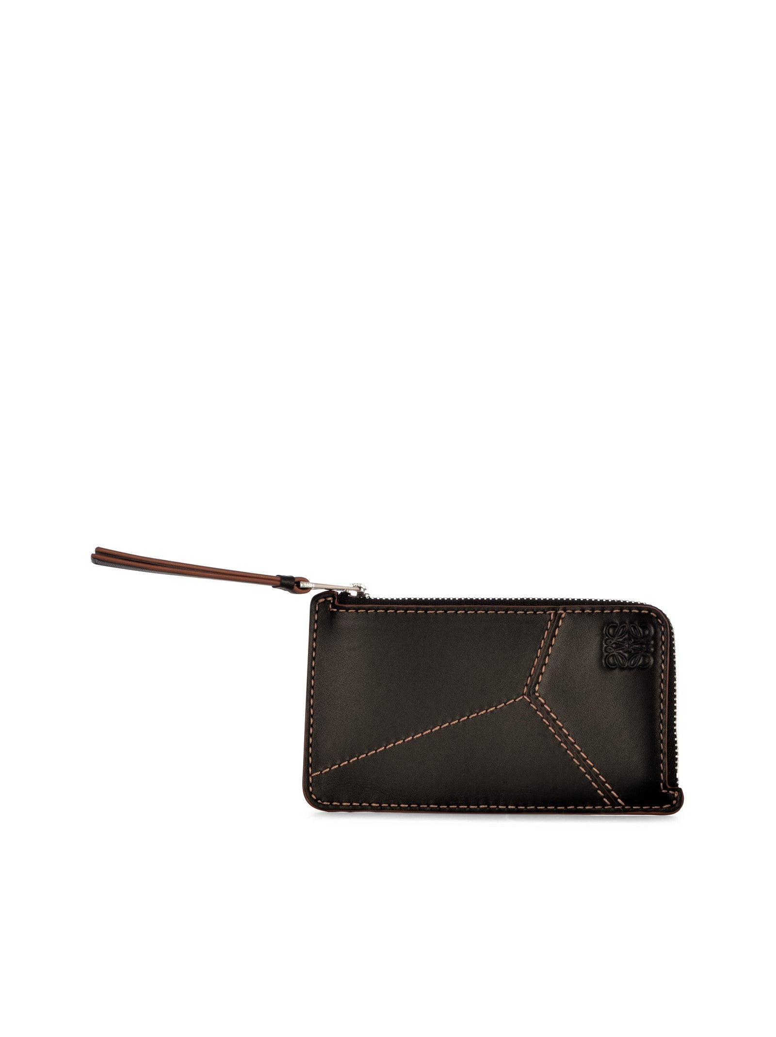 Puzzle coin cardholder in classic calfskin