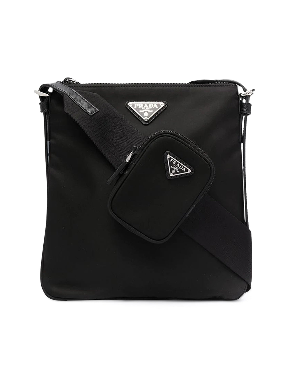 logo-plaque crossbody bag