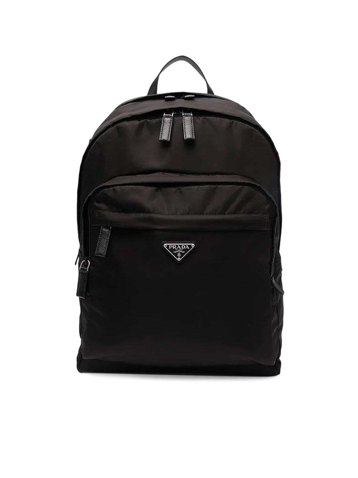 logo-plaque backpack