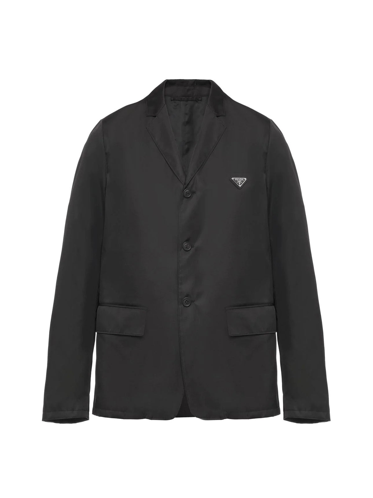 Re-Nylon single-breasted jacket