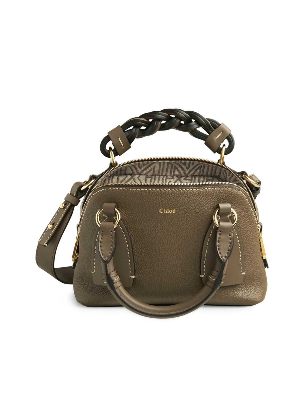 Daria small leather bag