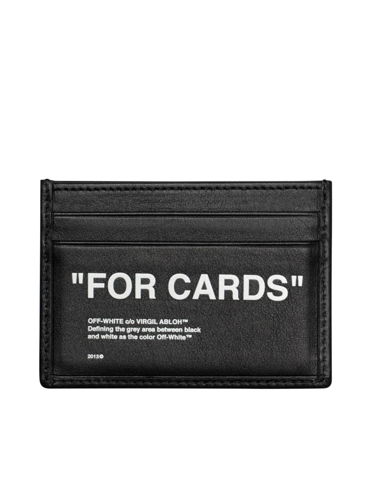 "LEATHER ""FOR CARDS"" CREDIT CARD HOLDER"