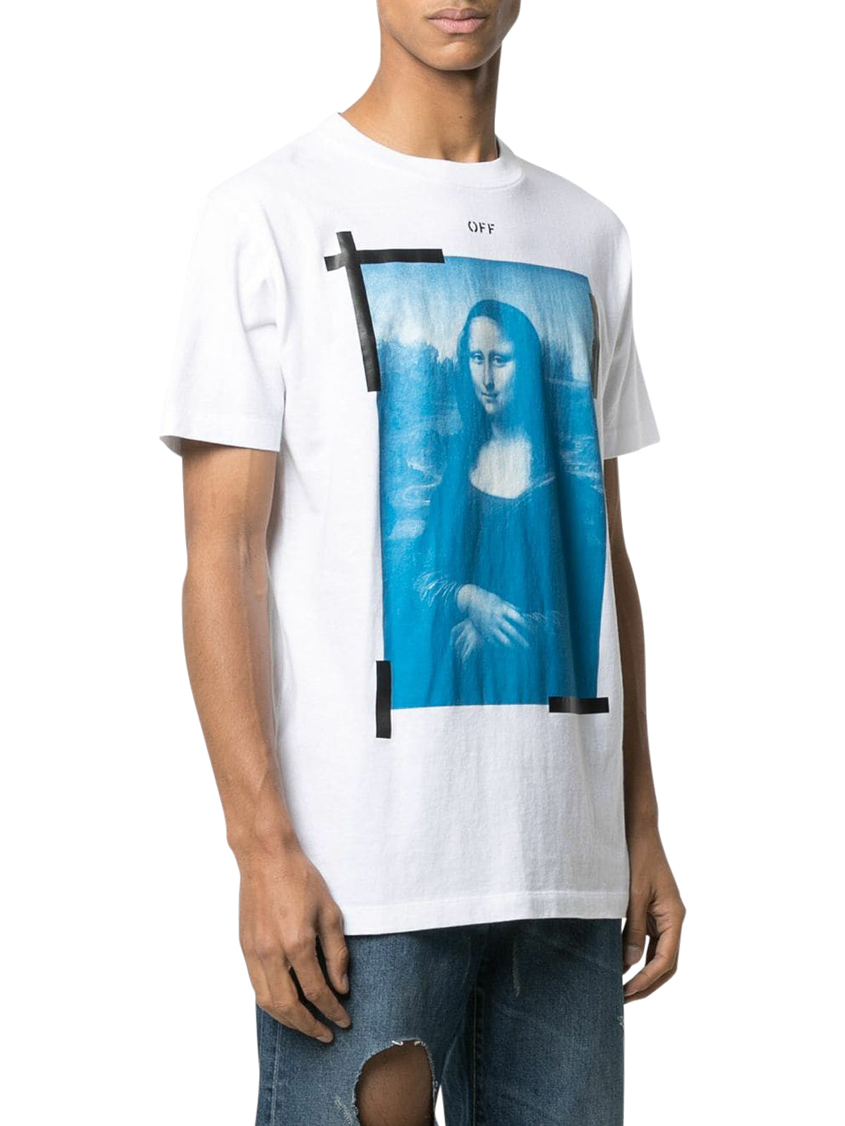 Mona Lisa graphic print T-shirt