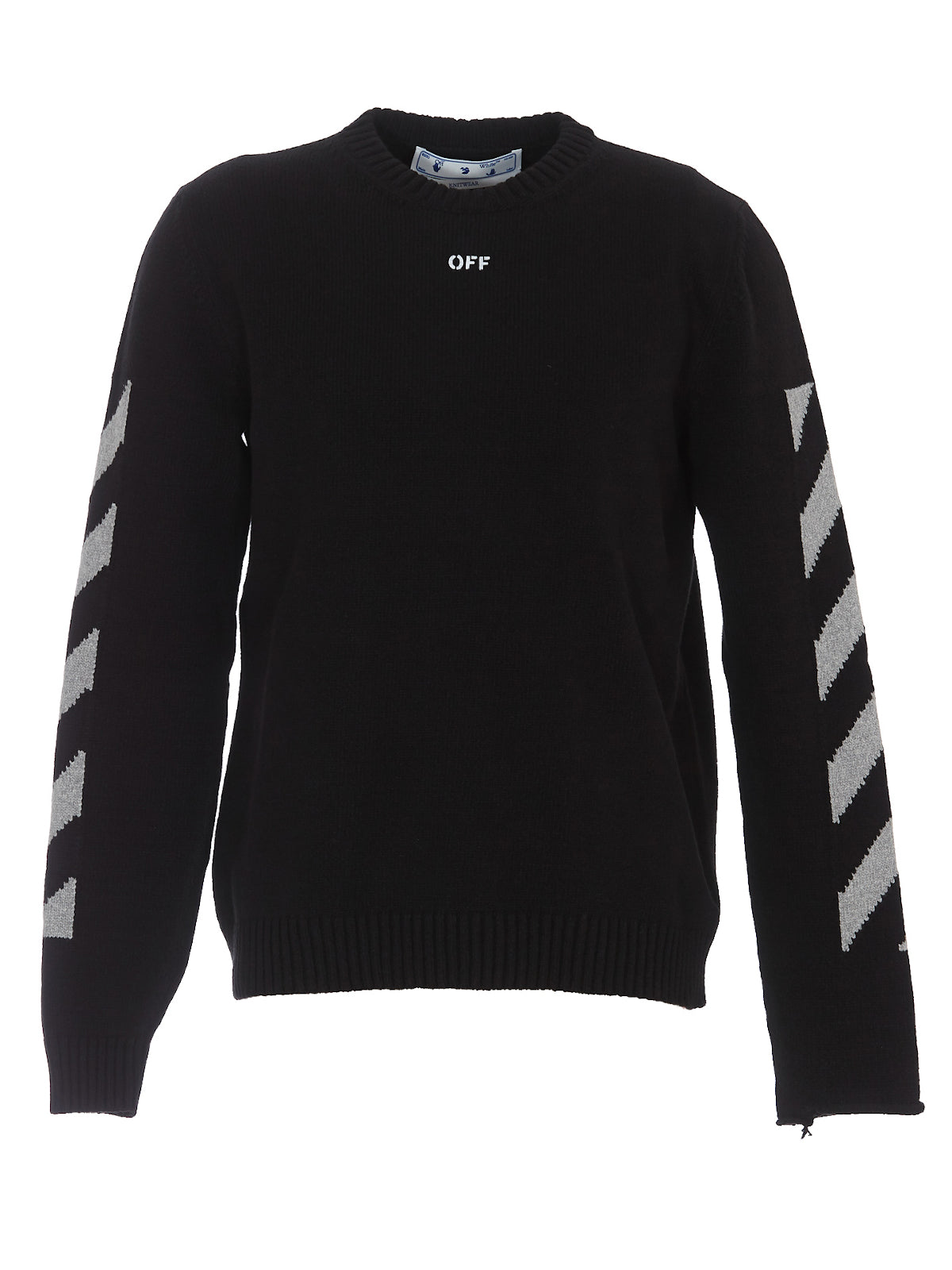 Arrow crewneck In Black High Rise