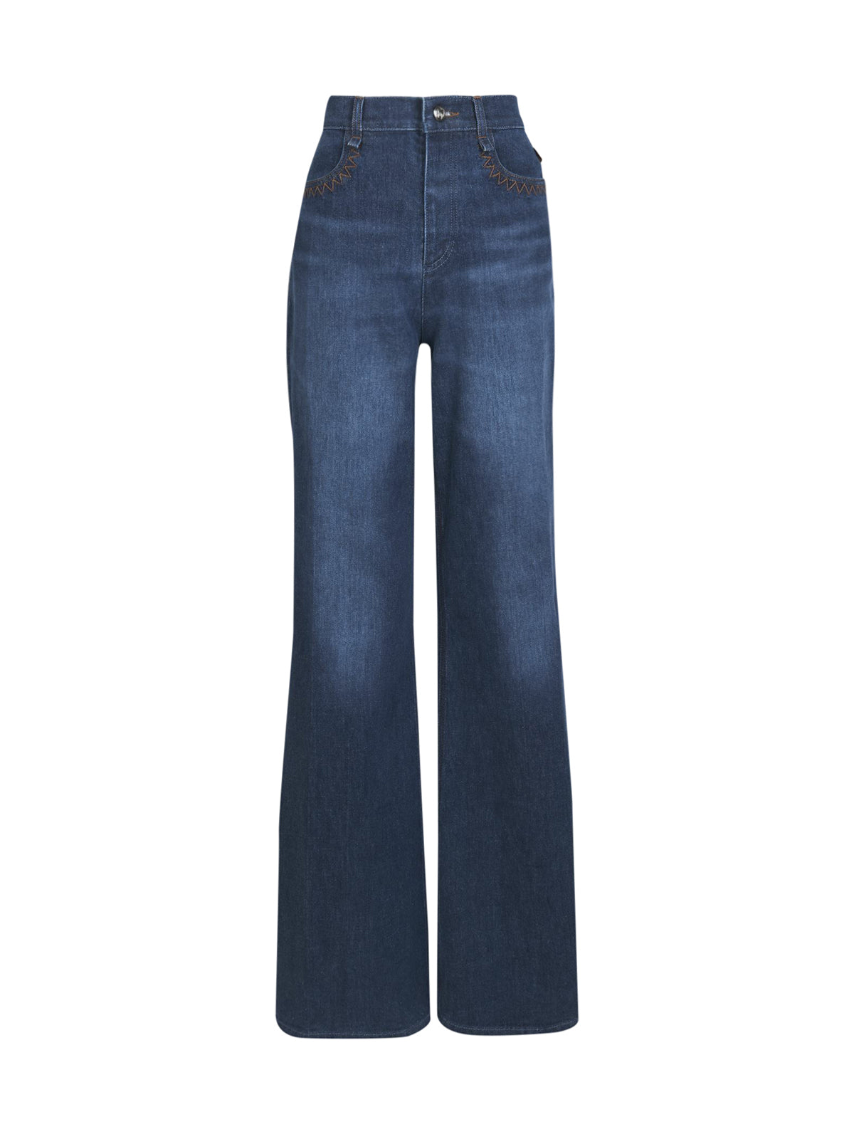 BELL JEANS WITH WIDE LEG
