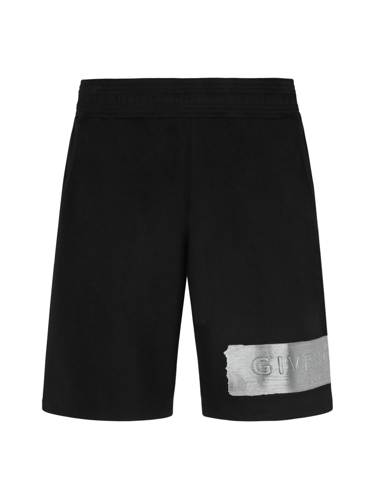 GIVENCHY SHORT PANTS IN LATEX BAND