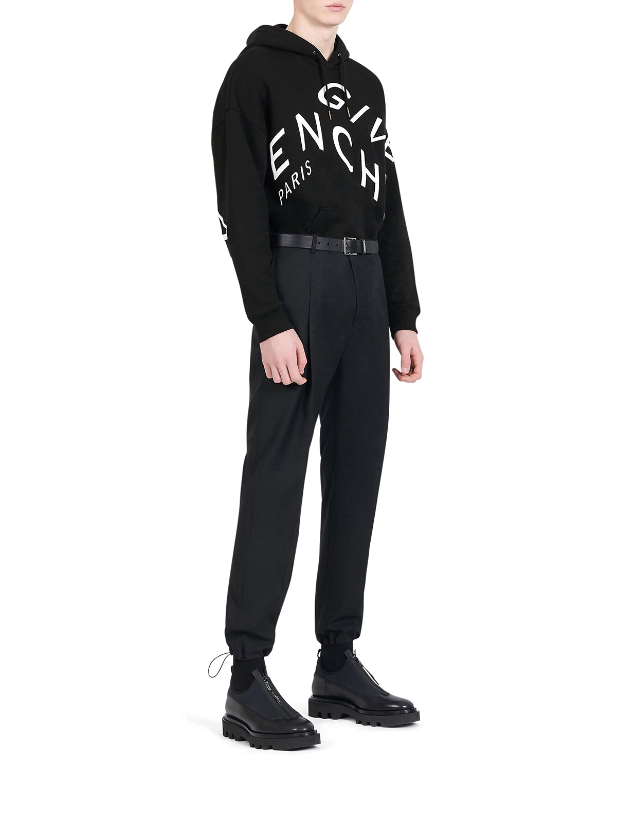 GIVENCHY REFRACTED SWEATSHIRT WITH EMBROIDERY