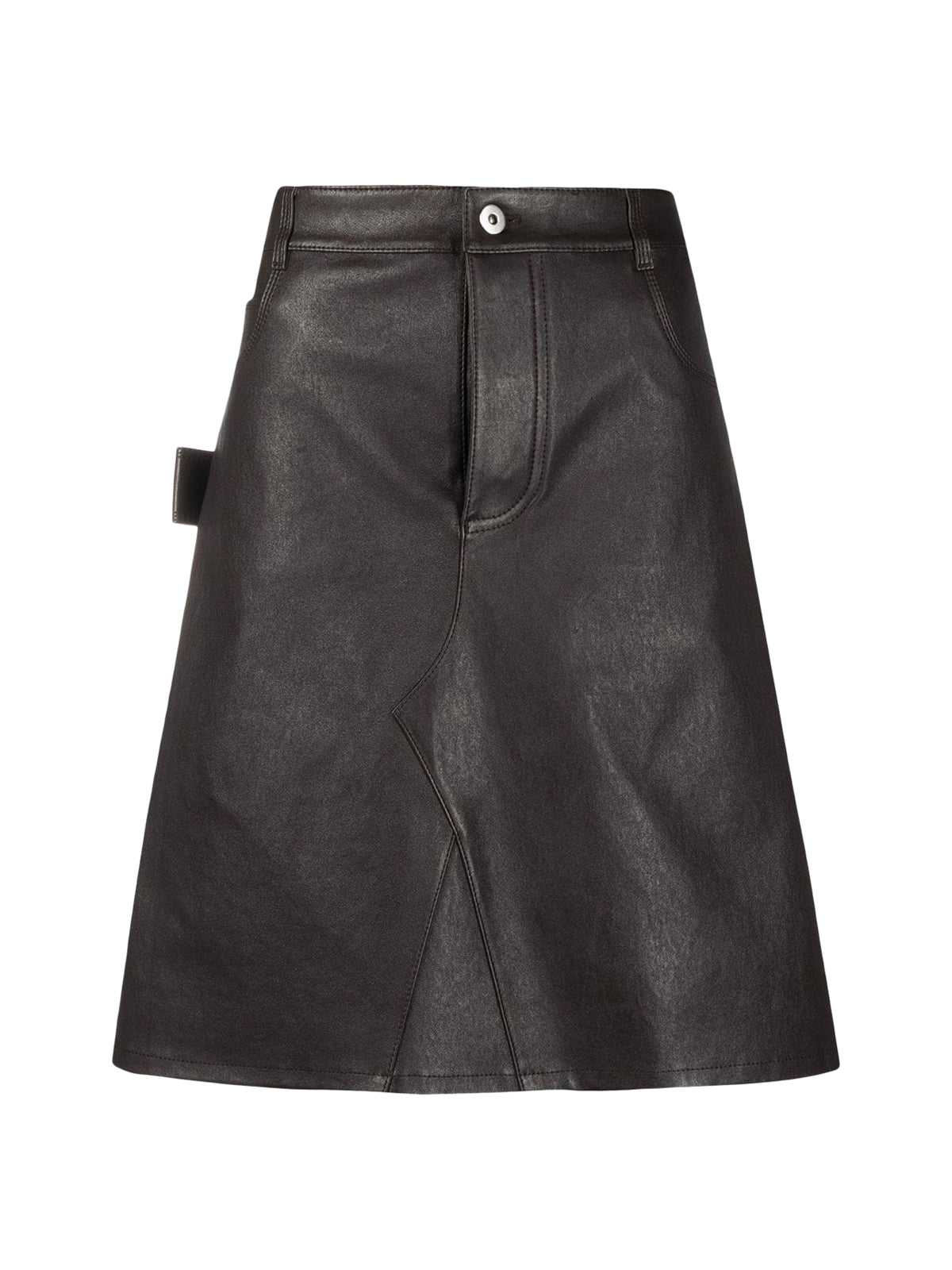 SKIRT IN LEATHER