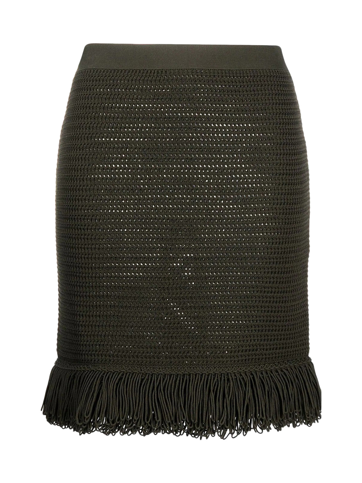 SKIRT COMPACT COTTON MESH