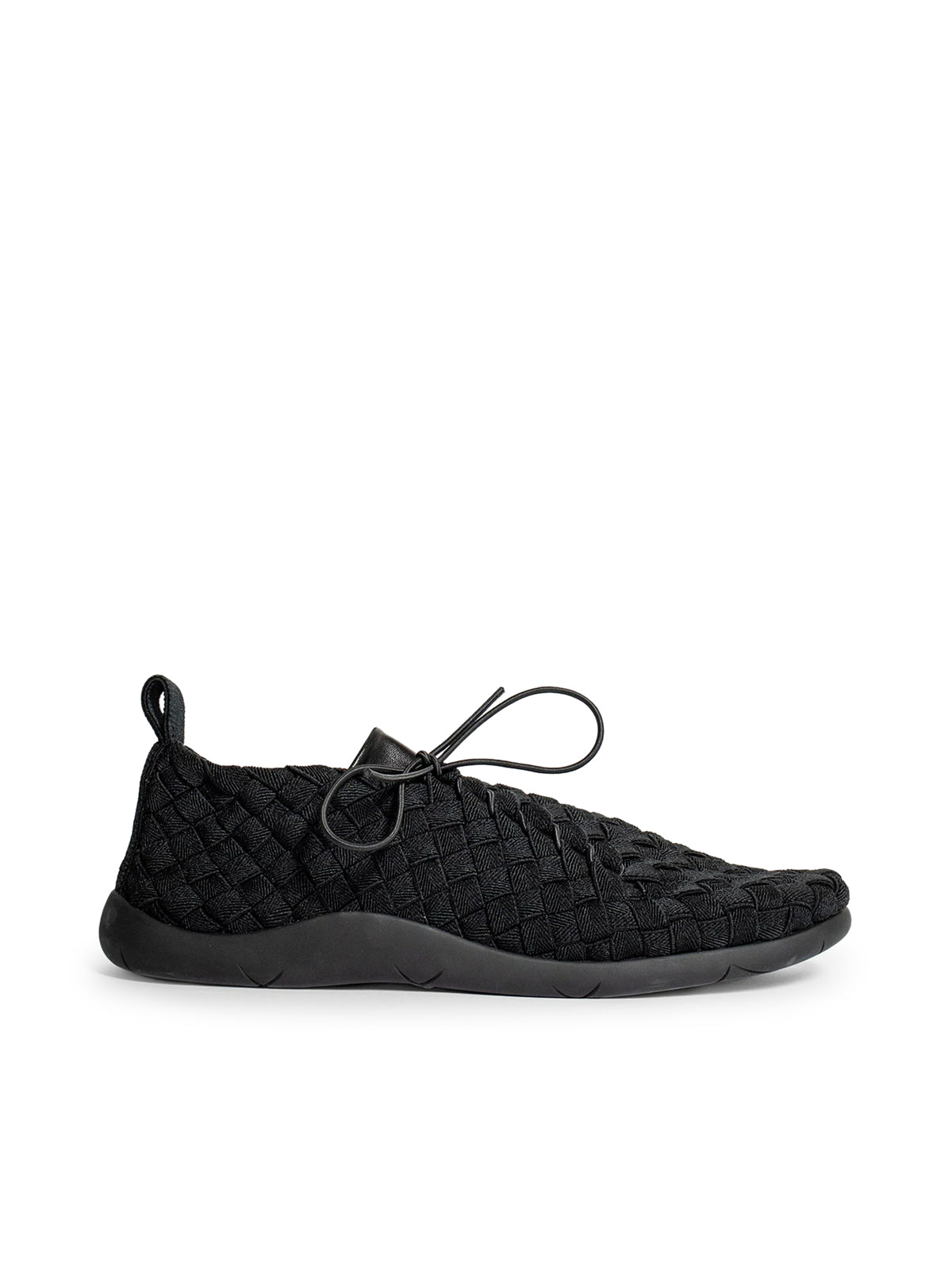 Bottega Veneta Leathers SNEAKERS IN GROSGRAIN BLACK