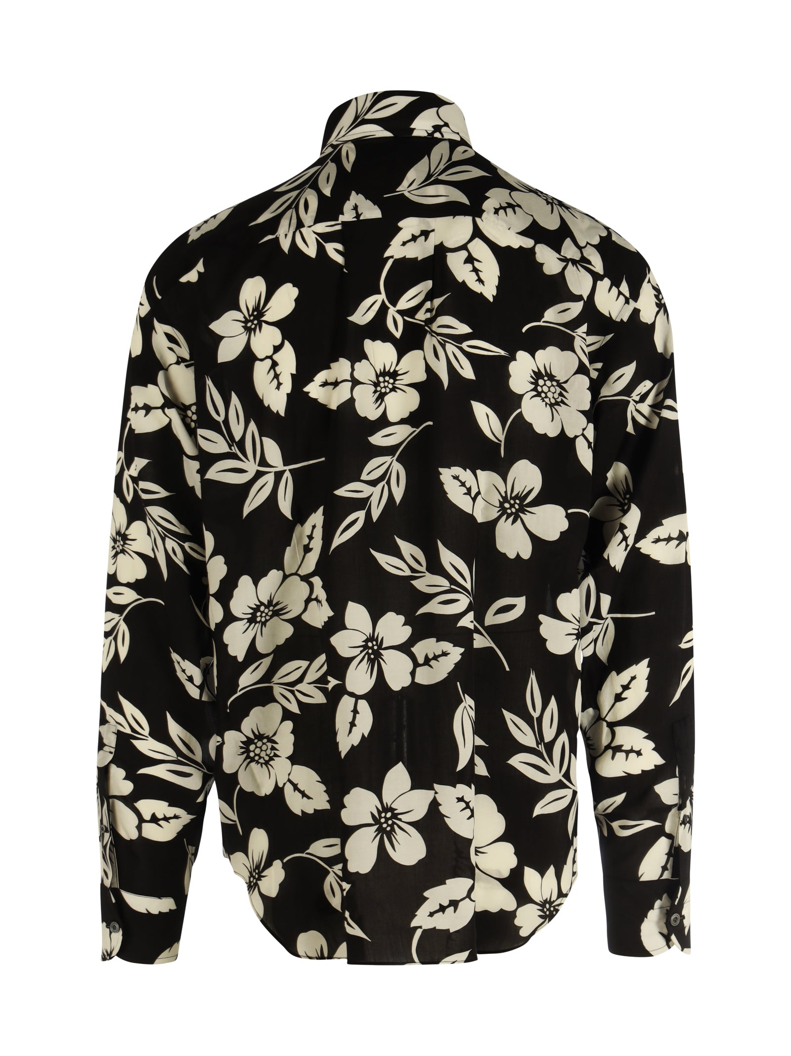 GRAPHIC FLORAL PRINTED SHIRT