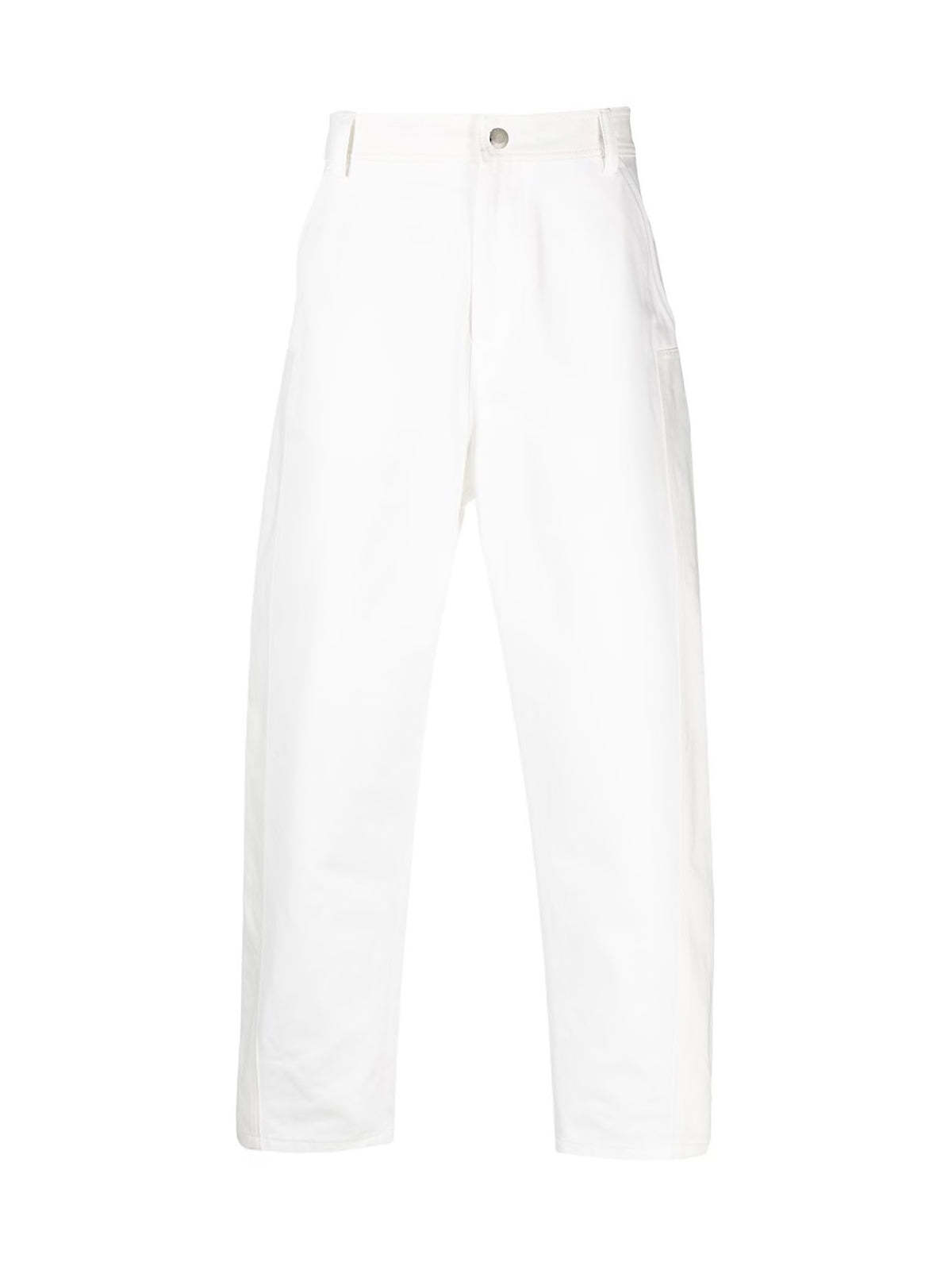 baggy fit tapered trousers