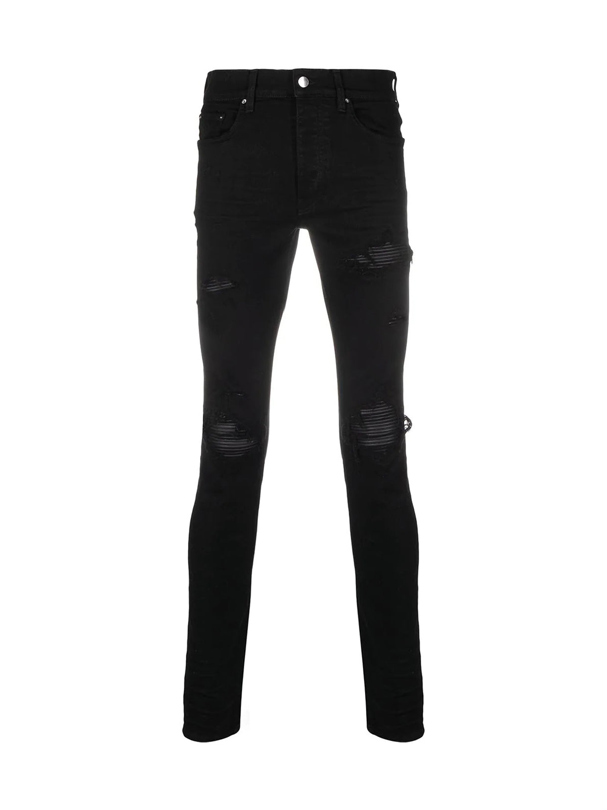MX1 mid-rise skinny jeans