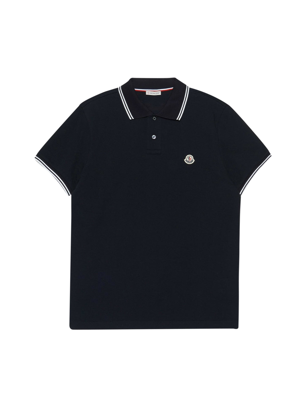 POLO SHIRT WITH LOGO PATCH