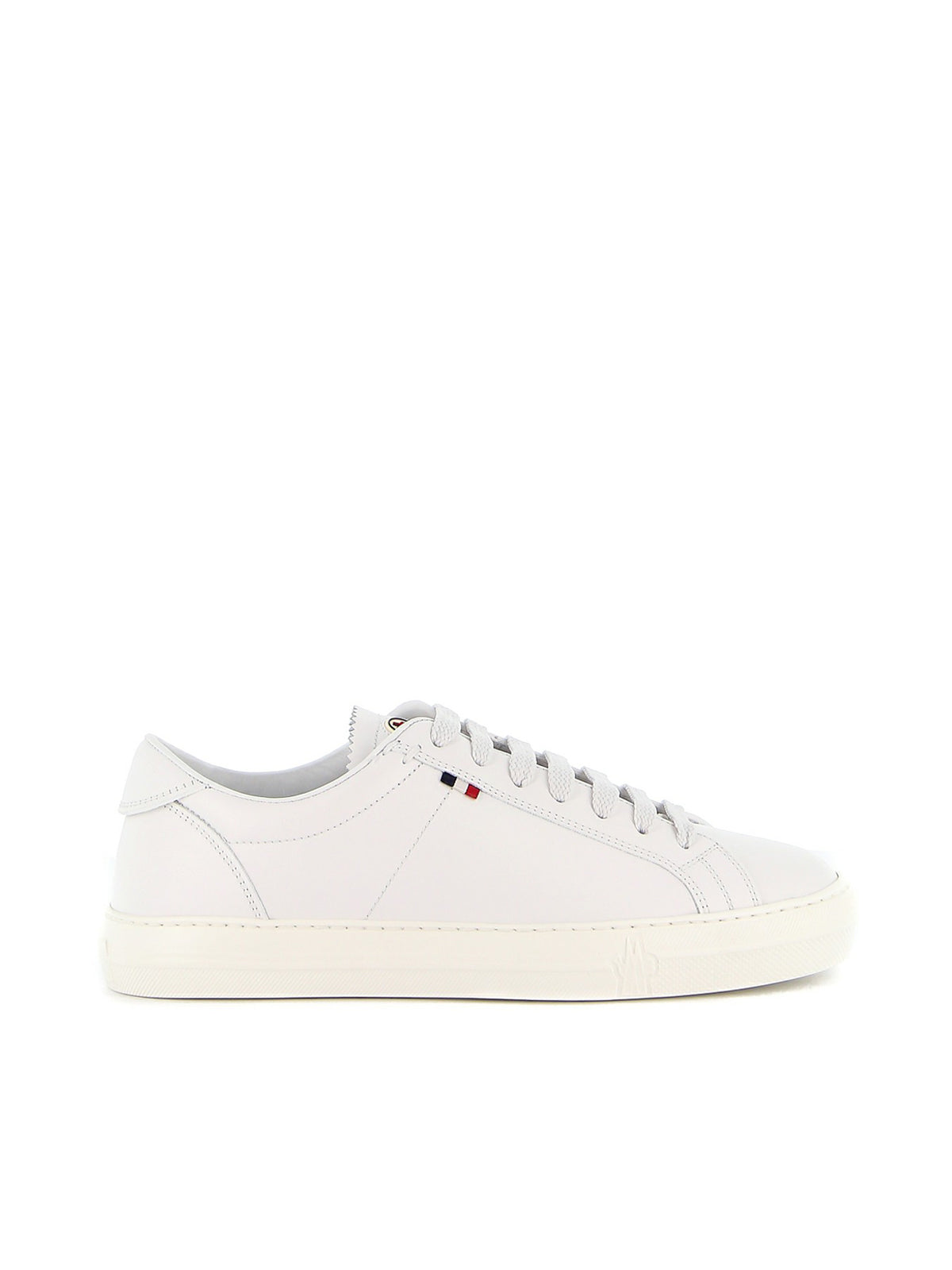 New Monaco white leather sneakers