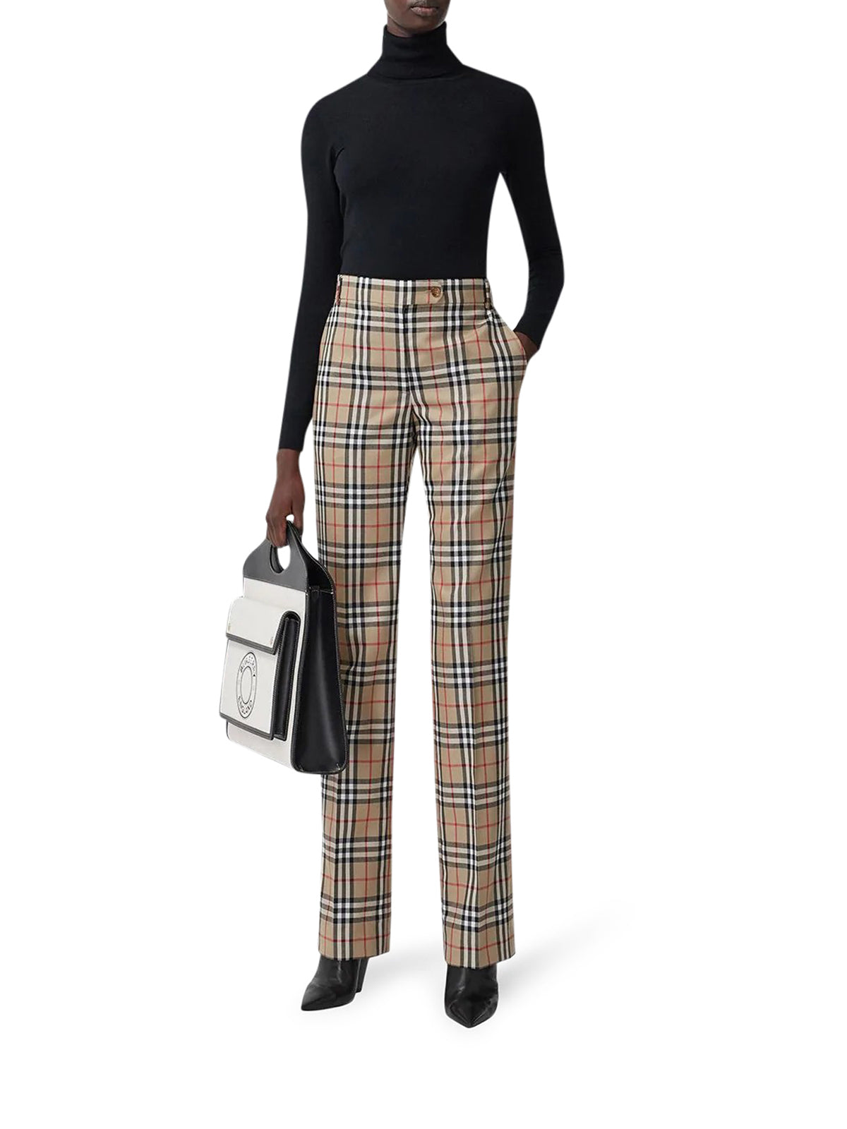 Vintage Check tailored trousers