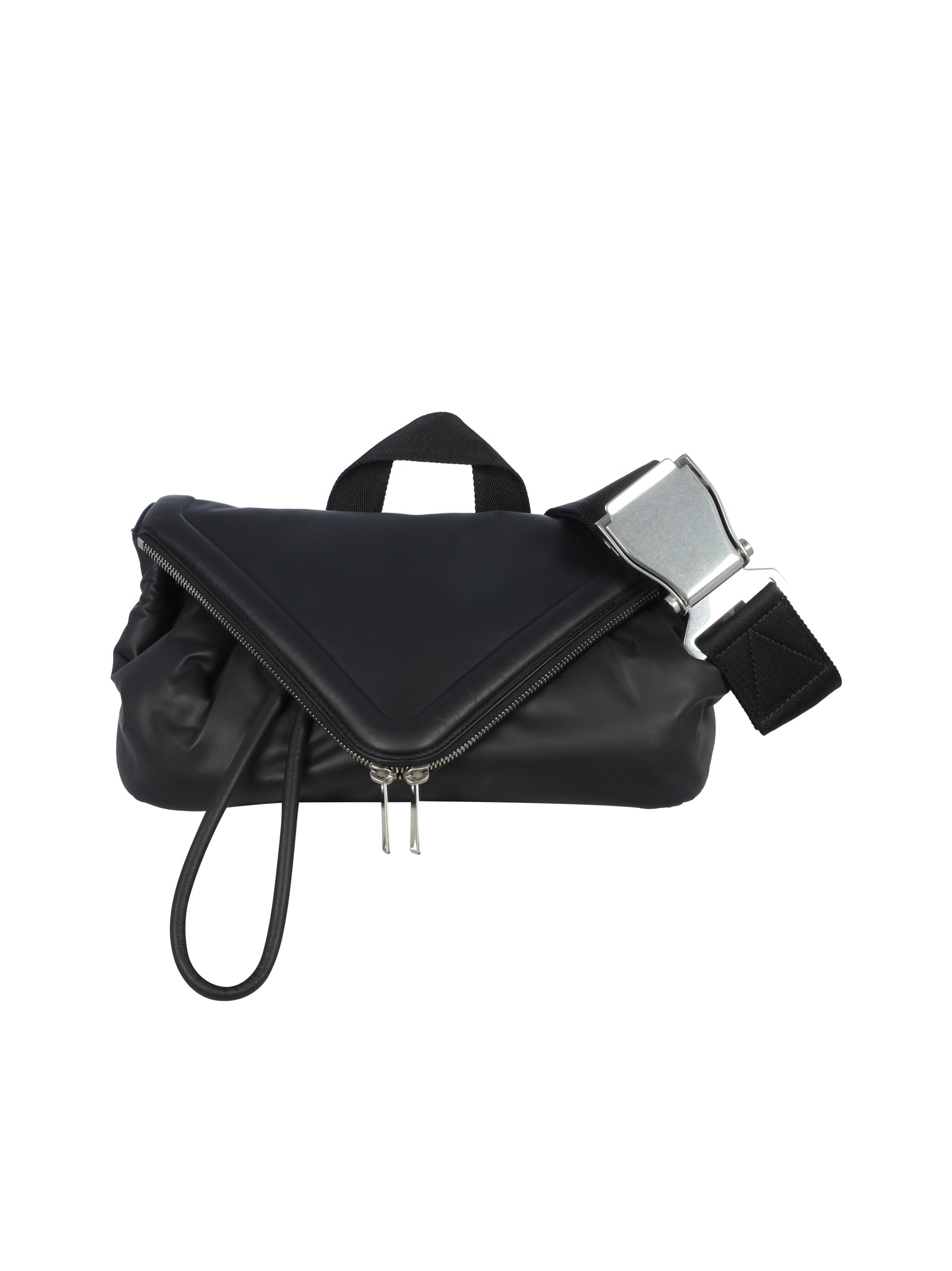 Beak leather belt bag