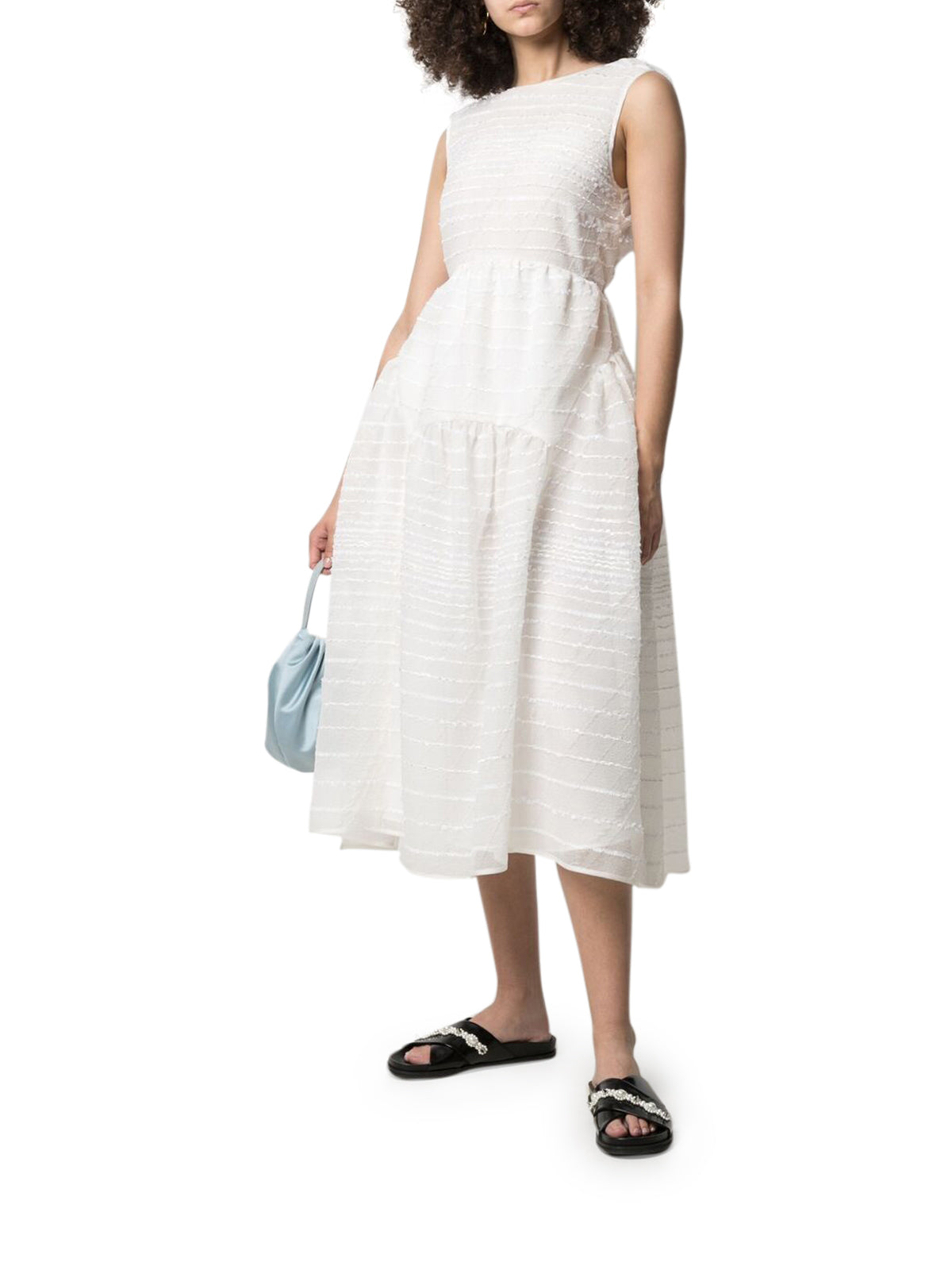 Cecilie Bahnsen EMBROIDERED DRESS