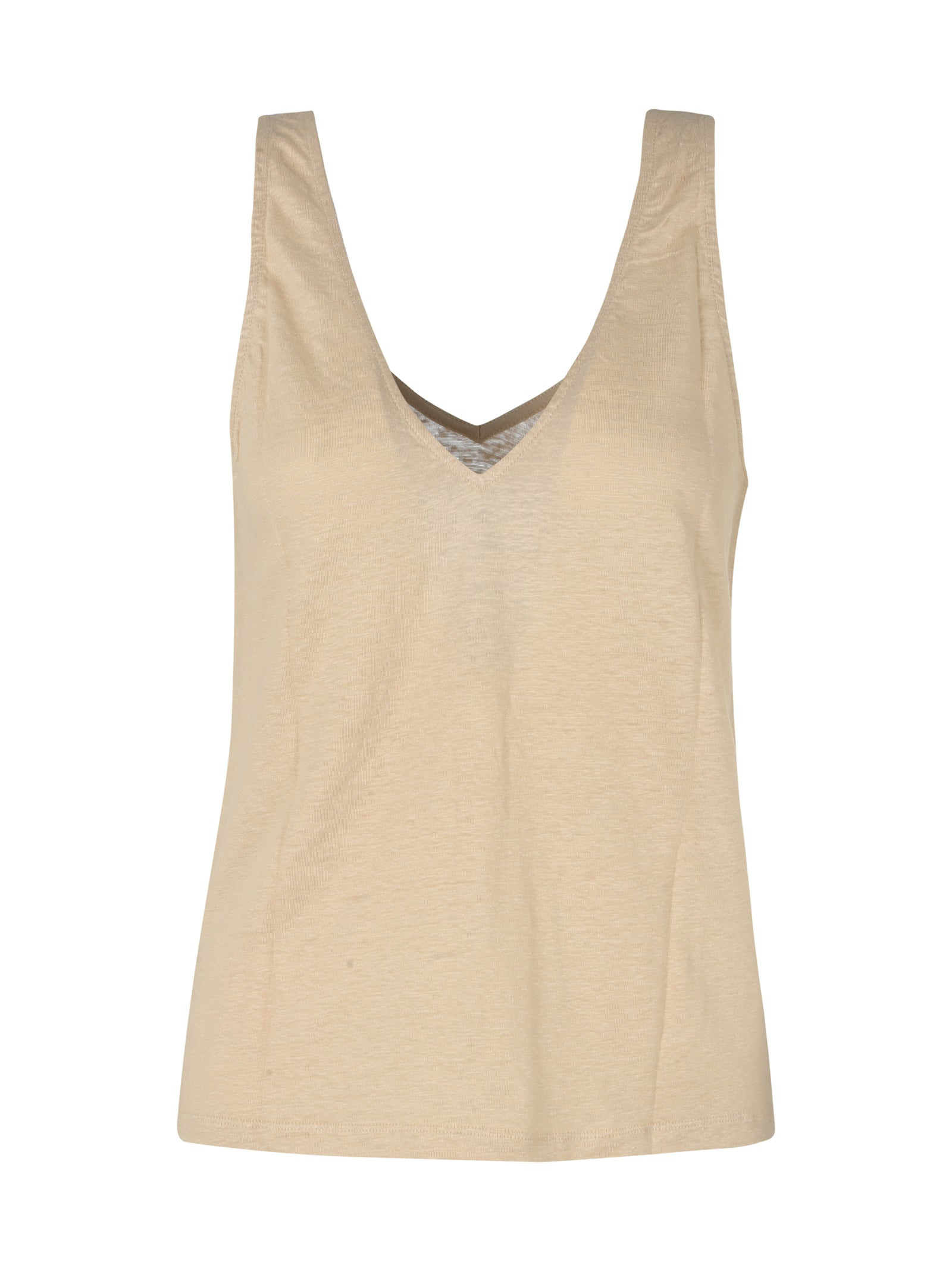Majestic TOP WITH V NECK