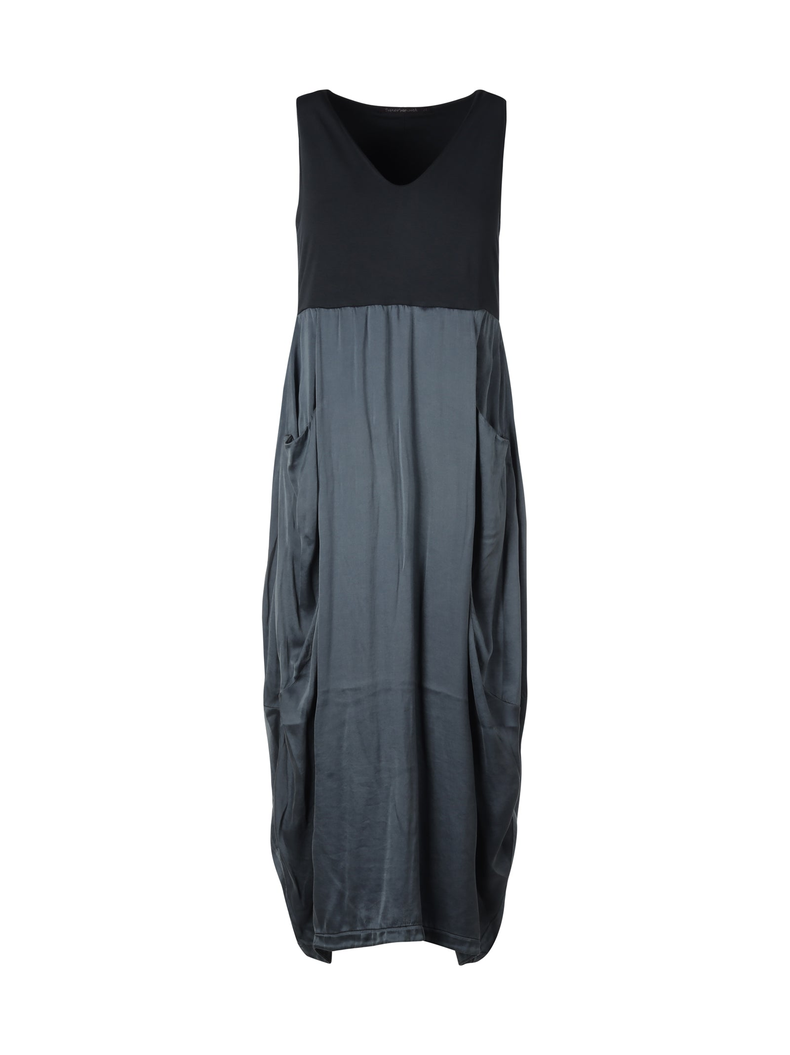 Transit Maxi dresses SLEEVELESS SHIFT MIDI DRESS