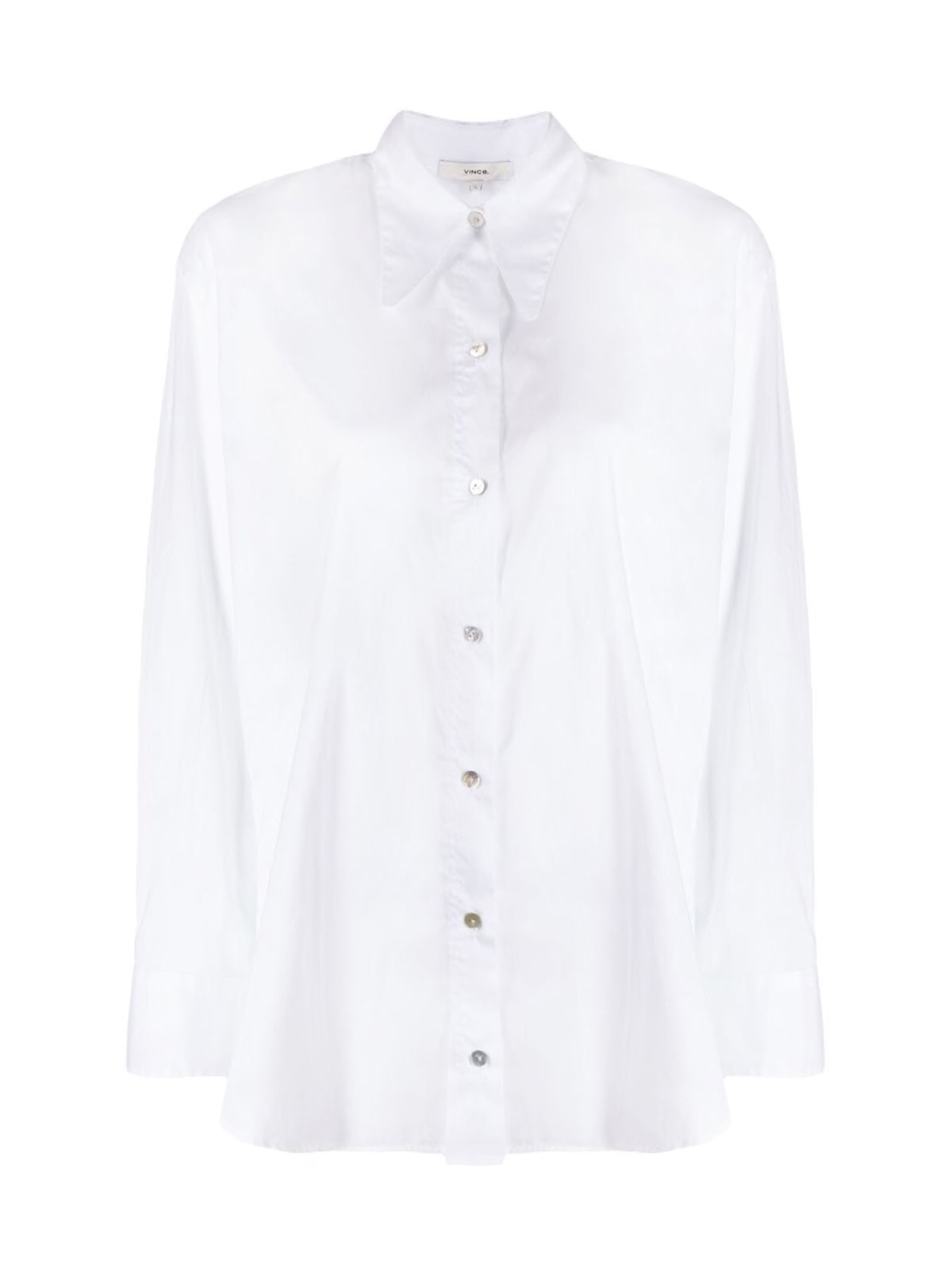 chelsea-collar cotton shirt