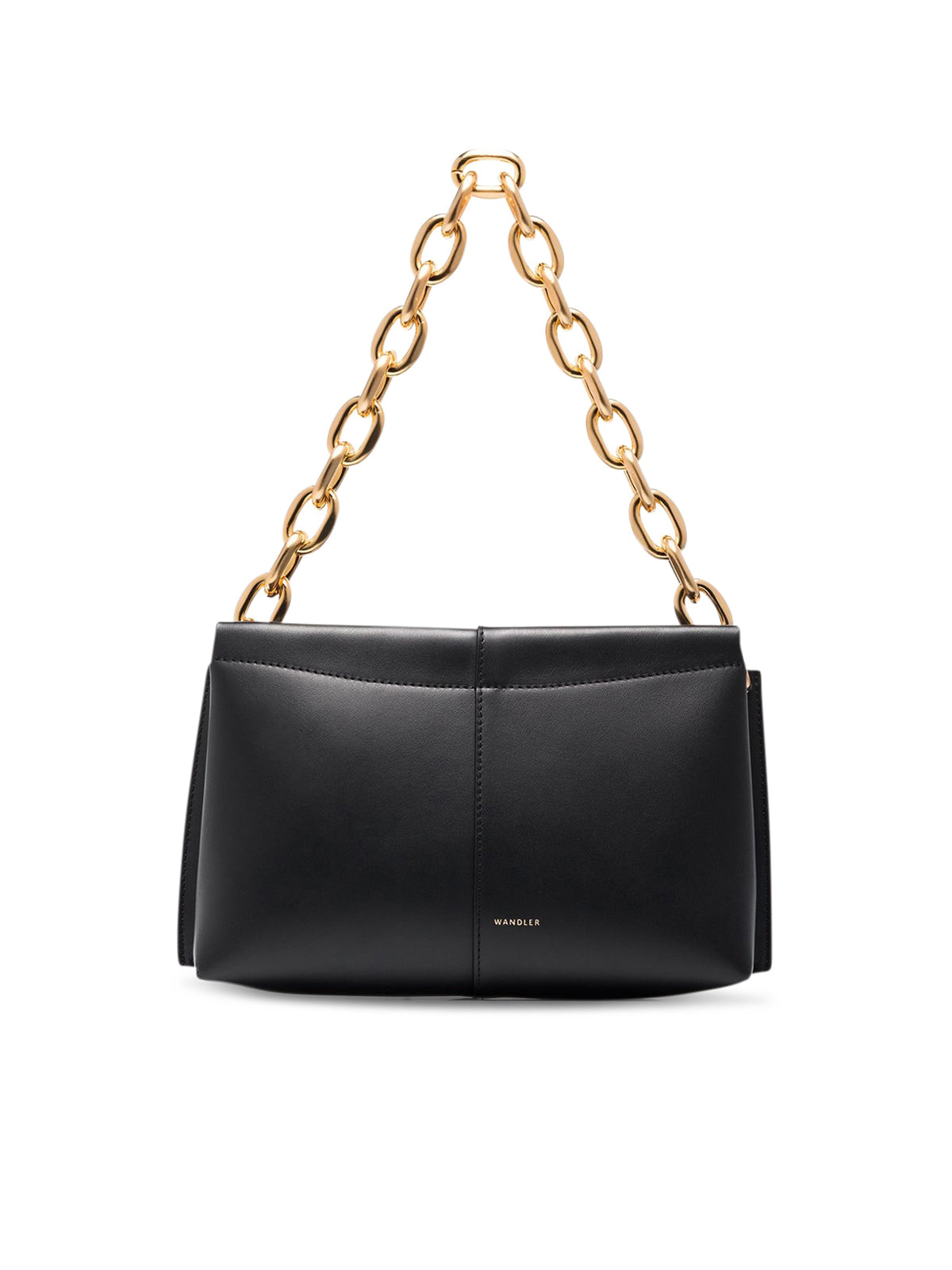 "mini ""Carly"" leather shoulder bag"