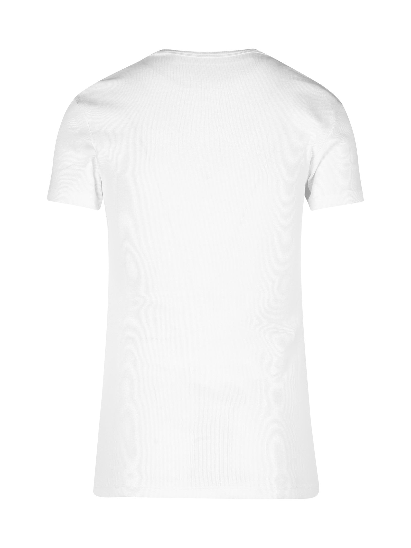 logo-print fitted T-shirt