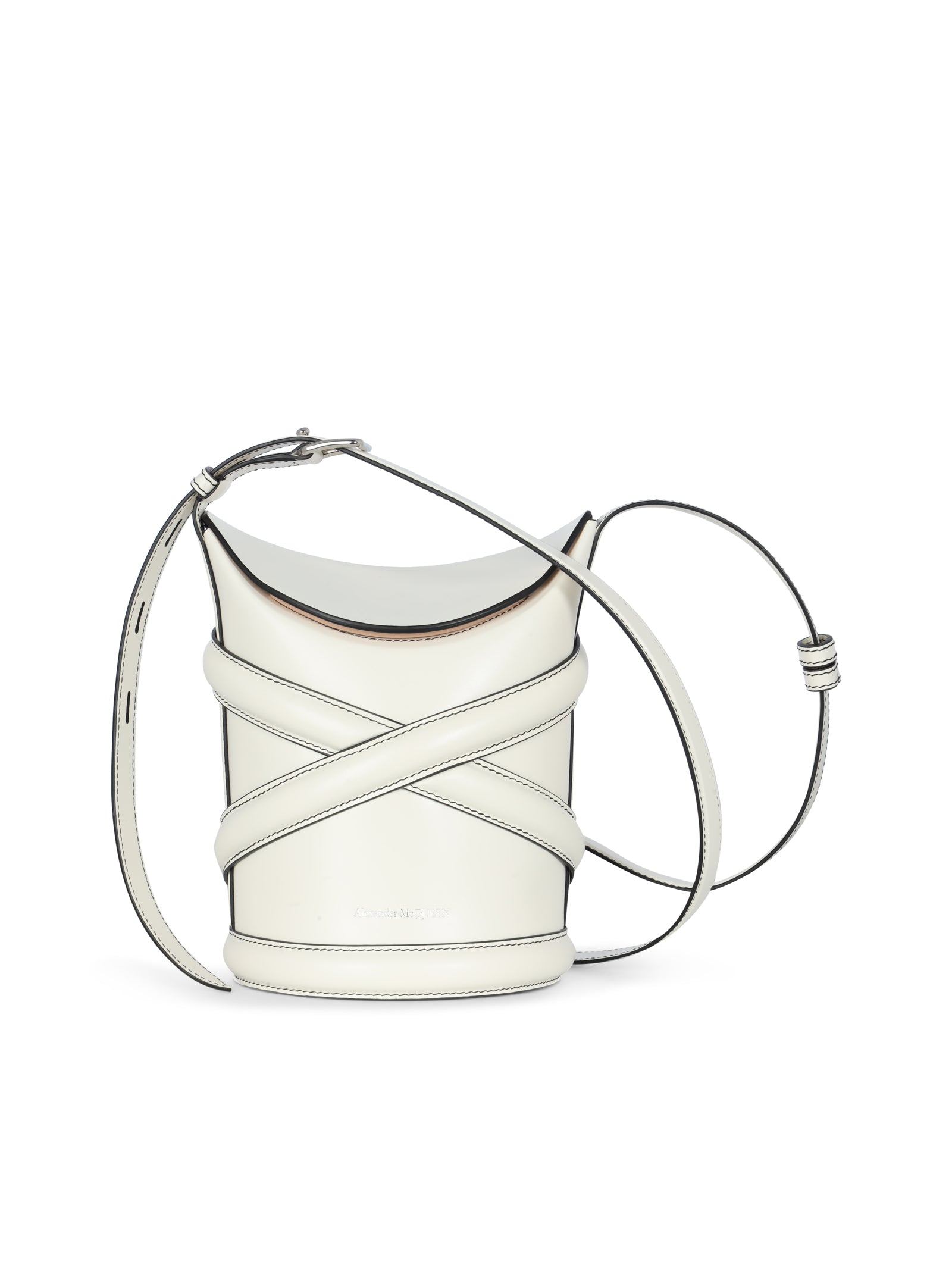 the curve small leather cross body bag