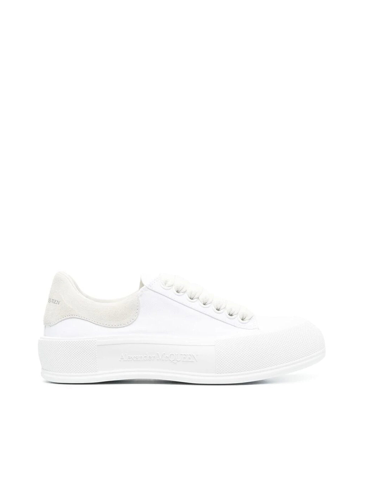 Deck lace-up sneakers