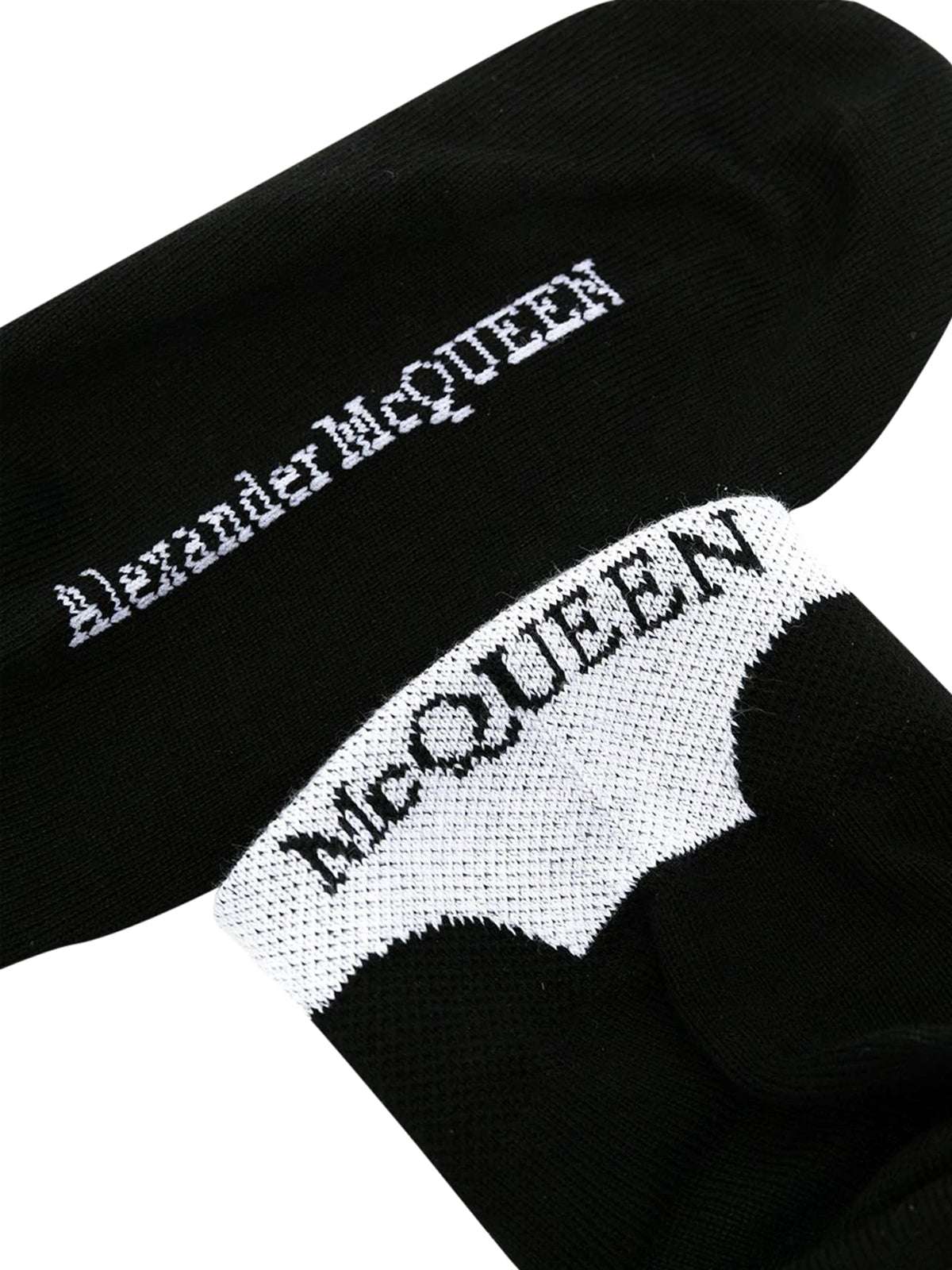 logo-embroidered socks
