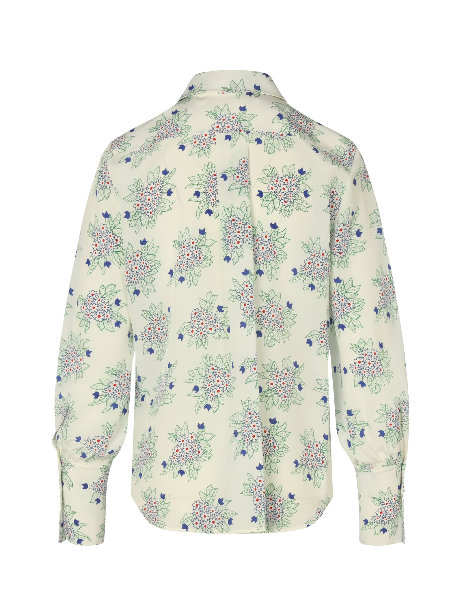 flowered shirt