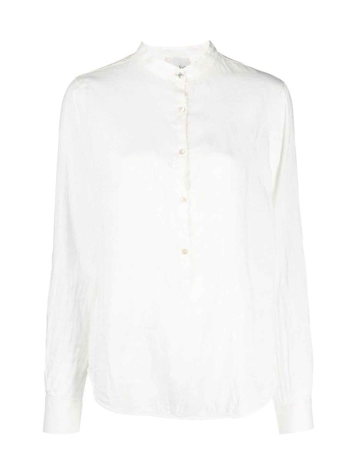 Cotton and silk shirt