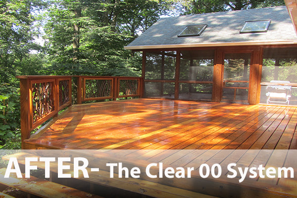 best deck stain locust clear natural non toxic
