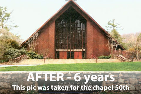 cedar chapel after 6 years