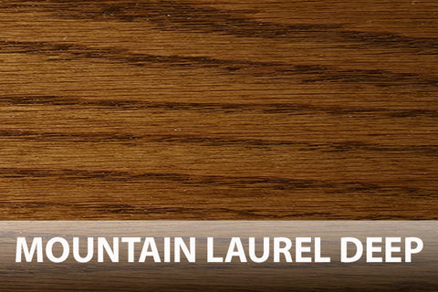 Mountain Laurel Deep oak floor stain