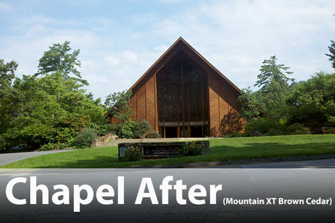 Warren Wilson chapel mountain xt brown cedar