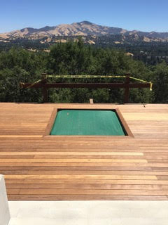 Best Deck Stain Ipe California Cliffside