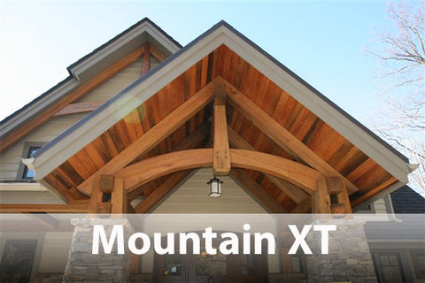 Mountain XT on timber frame