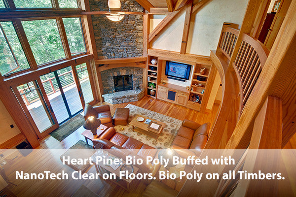 Bio Poly Natural Wood Floor Finish Non Toxic Stain