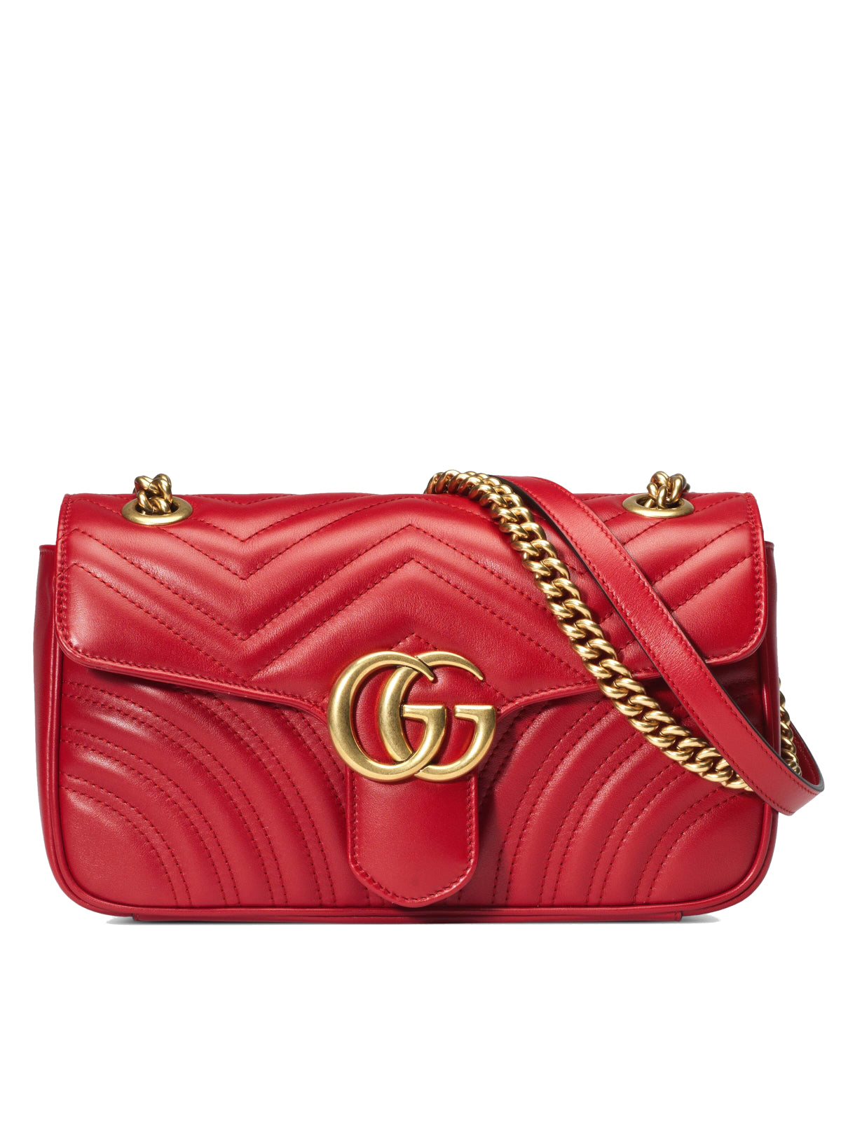 GG MARMONT MATELASSE` SMALL BAG