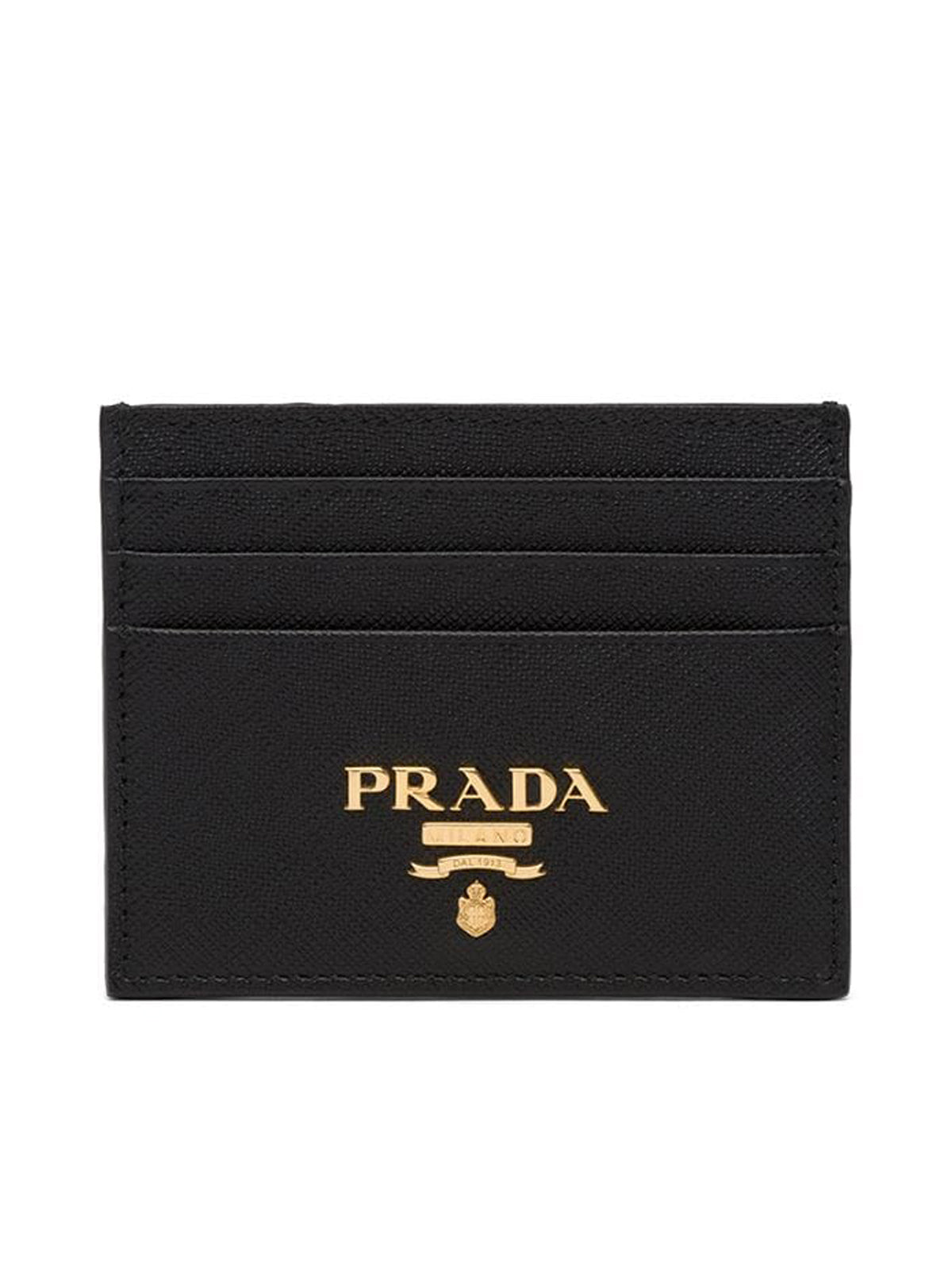 COMPACT FRONT LOGO CARDHOLDER